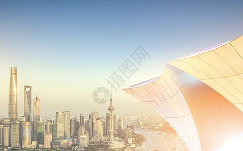 商务城市风光图片