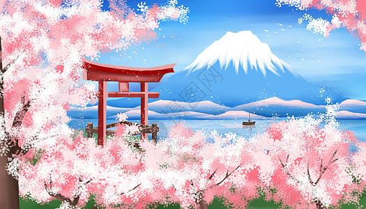 日本樱花节图片