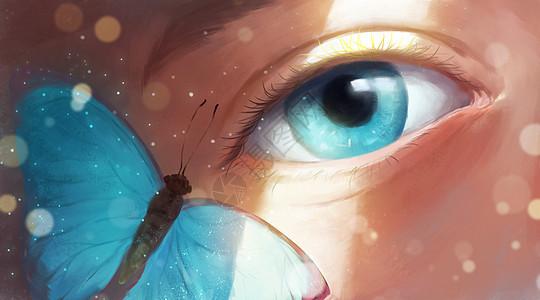 唯美蝴蝶图片