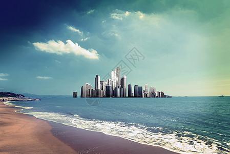 商务都市图片