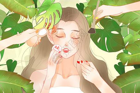 三八女神节时尚美妆图片