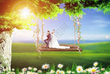 创意婚纱照图片