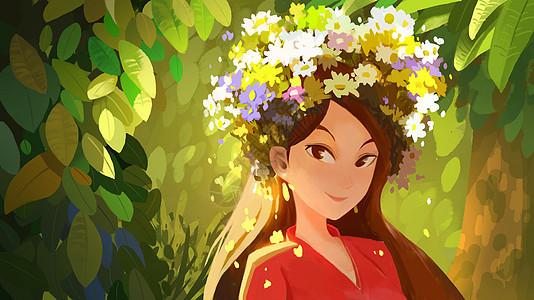 春日女神图片
