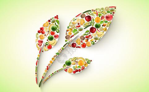 水果蔬菜绿色健康图片