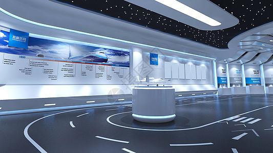 航空展厅图片