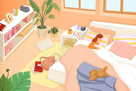 健康睡眠图片