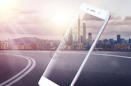 手机城市图片