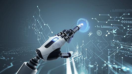智能机械手臂图片
