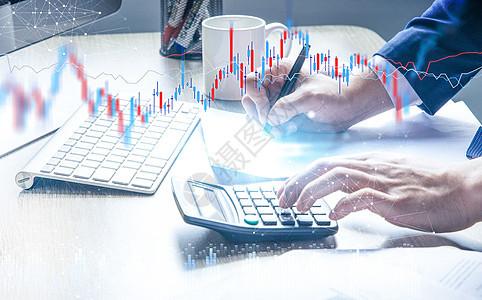 金融测算商业财经图片