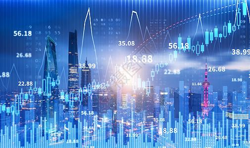商务金融城市之光图片