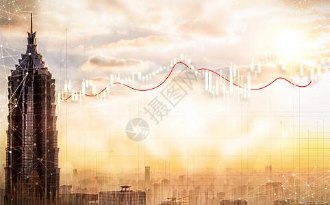 迷雾中的金融曲线图片