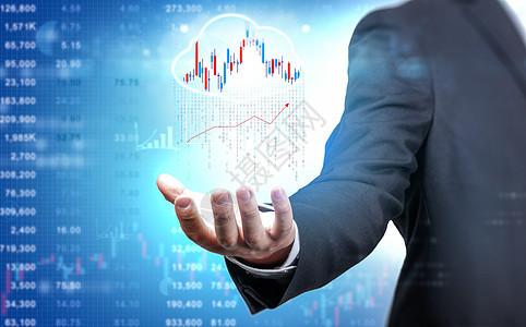 金融数据投资趋势图片