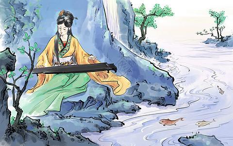中国风传统人物图片
