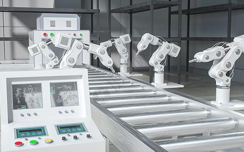智能化机械工厂图片