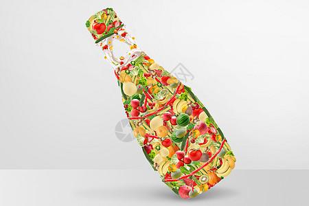 创意水果蔬菜图片