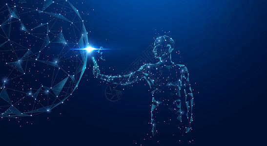 人工智能触碰科技图片
