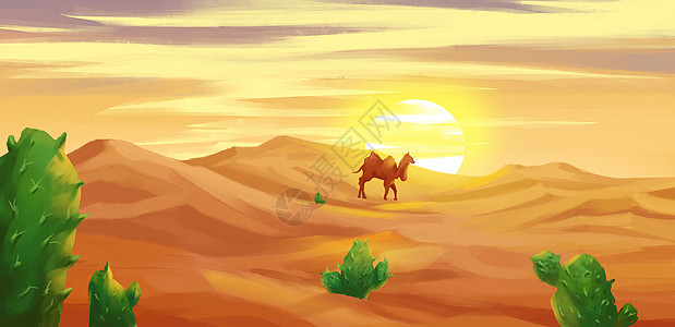 马卡龙沙漠图片
