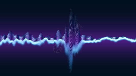 声波背景图片