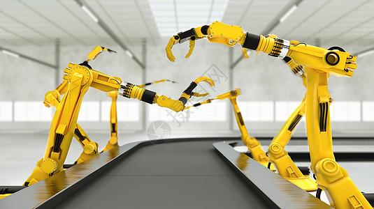智能机械工厂图片