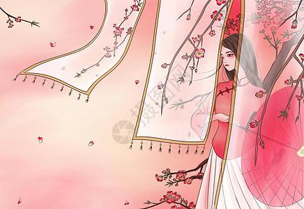 朵朵桃花相映红图片