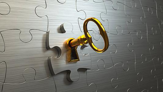 金钥匙图片