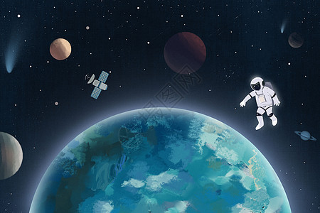 地球插画picture