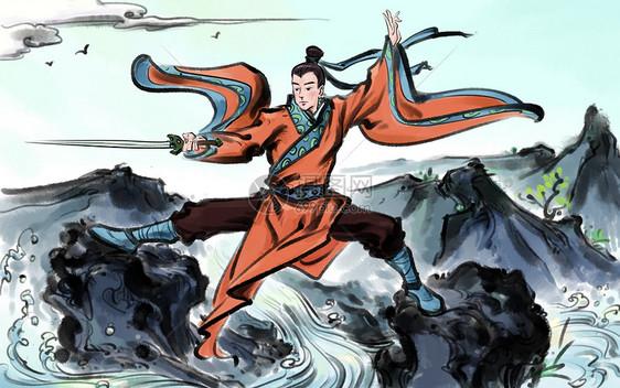 中国武术图片