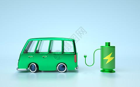 汽车绿色能源图片