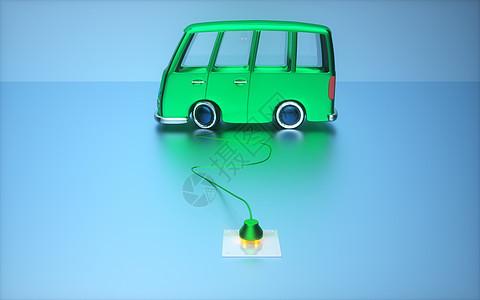 绿色汽车能源图片
