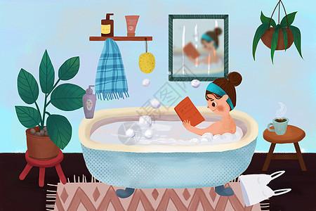 生活方式之泡澡图片