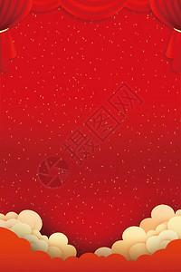 红色节日背景图片