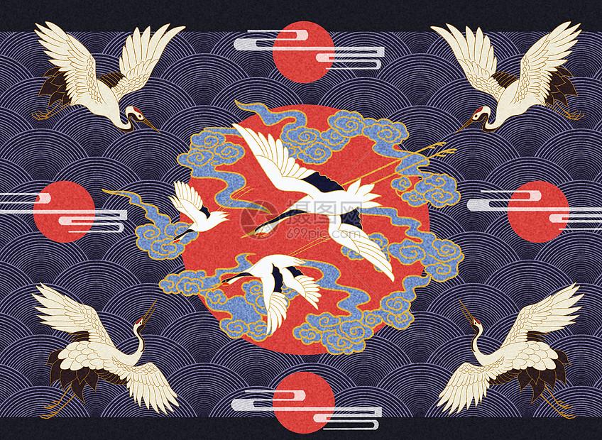 中式古典花纹图片_国风纹饰插画图片下载-正版图片401053161-摄图网