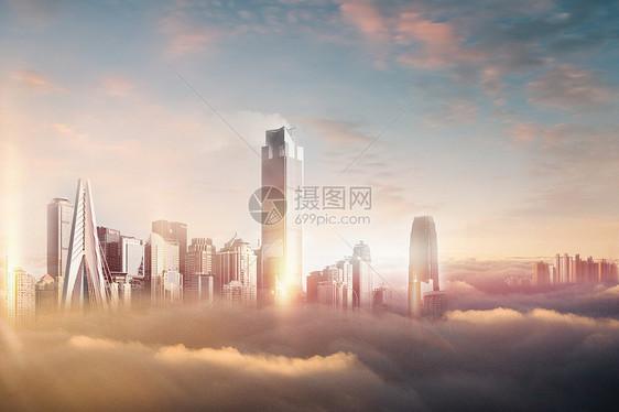 云中城市图片