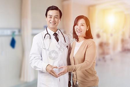 医生患者互动图片