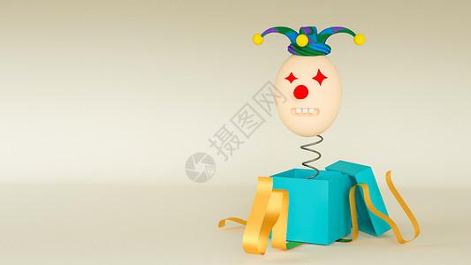 小丑搞怪图片