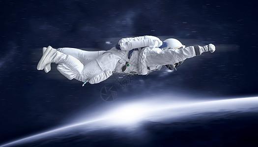 宇航员冲击图片