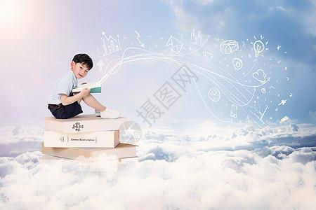 创意儿童教育图片