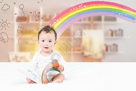 创意宝宝早教图片
