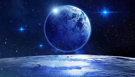 地球恒星图片