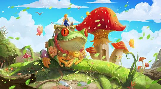 童话的春季冒险之旅图片