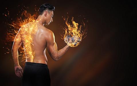 热衷于健身的男人图片