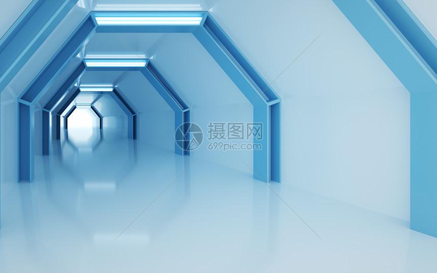 立体延伸空间图片
