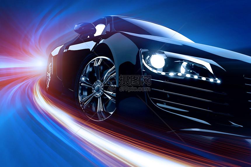 汽车光束图片