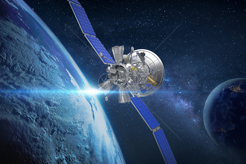 太空卫星图片