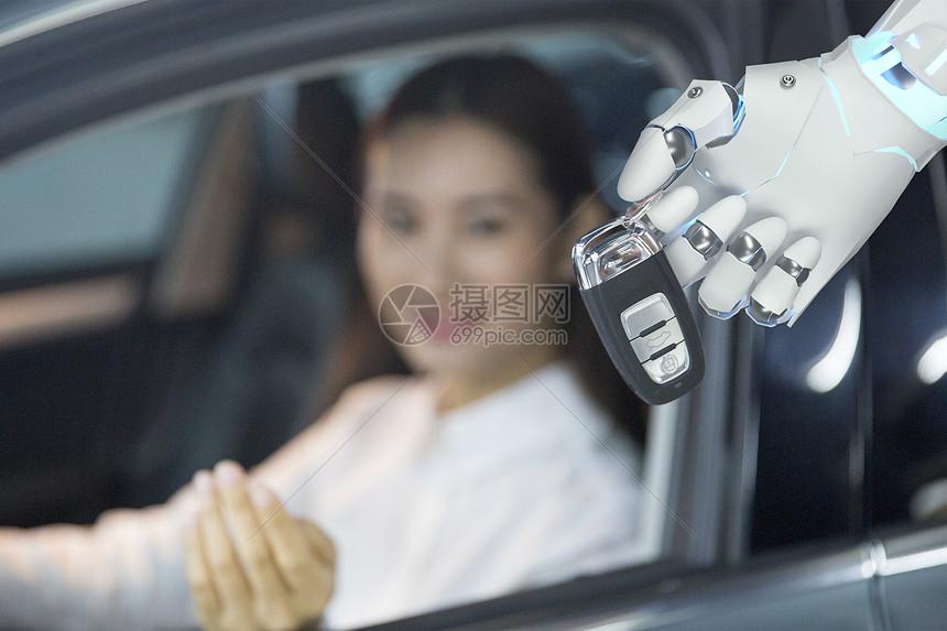 智能机械手图片