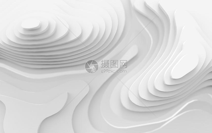 三维等高曲线空间图片