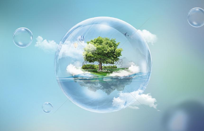 保护环境图片