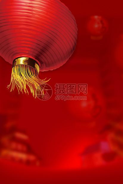 红色灯笼背景图片