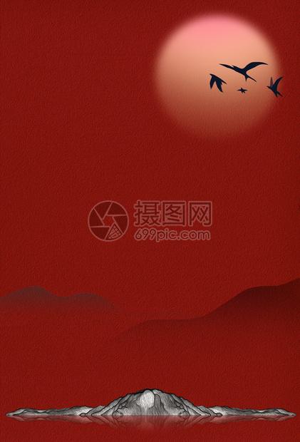 复古大气中国风背景图片