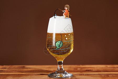 创意啤酒图片